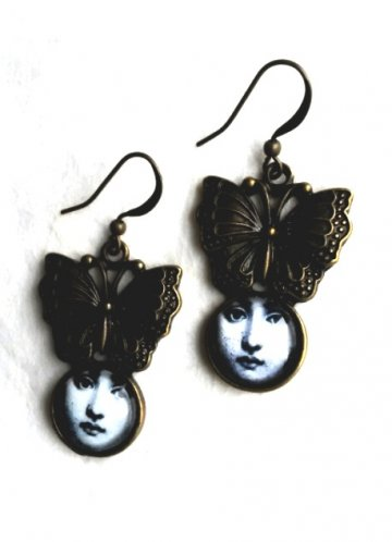 Butterfly Girl Earrings
