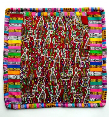 Mayan Huipil Pillow - Nebaj