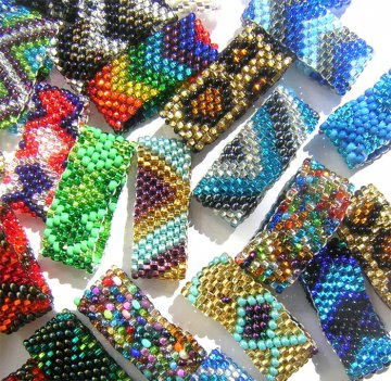 Assorted Beaded Band Rings