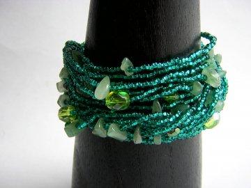 Wrist Wrap - Caribbean Green