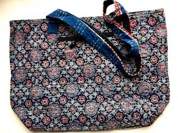 Weekender Kantha Bag