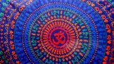 Ohm Mandala Wallhanging