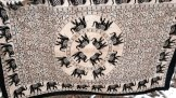 Elephant Mandala Wall Hanging or Tablecloth