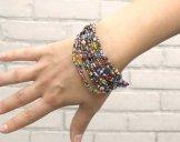 12 Strand Bracelet - Carnival