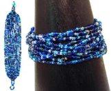 12 Strand Bracelet - Ocean Tweed