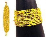 12 Strand Bracelet - Sunshine Tweed