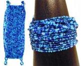 24 Strand Bracelet - Ocean Tweed