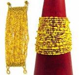 24 Strand Bracelet - Sunshine Tweed