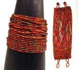 24 Strand Bracelet - Autumn Leaves Tweed