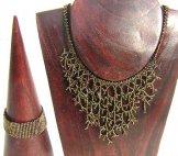 Medium Woven Bracelet - Bronze