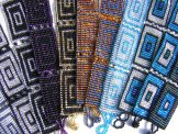 Medium - Pattern Woven Bracelet - Large Square - Assorted