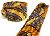 Milan Wave Woven Bracelet - Gold