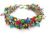 Stone Caterpillar Bracelet - Carnival (Multicolor)