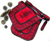 Mont Royal Small Saddle Bag - Red