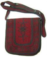 Mont Royal Small Saddle Bag - Plum