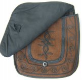 Mont Royal Small Saddle Bag - Coffee