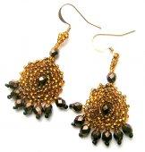 Byzantine Earrings - Copper
