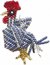 Christmas Ornament - Rooster
