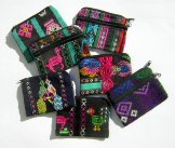 Mayan Corte Two Zipper Change Purses Assorted