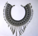 Cleo Collar - Grey and Black