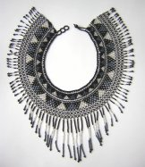 Cleo Collar - Silver, Gray and Black