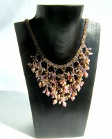 Coral Necklace - Salmon