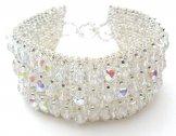 Crystal Cuff Bracelet - Crystal