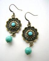 Taos Earring - Turquoise
