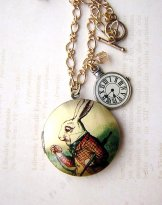 White Rabbit Locket