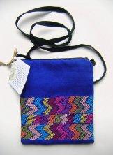 Huipil - Pocket Bag - Blue ***SOLD***