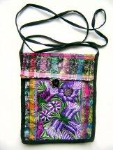 Huipil - Pocket Flap Bags - Purple ***SOLD***
