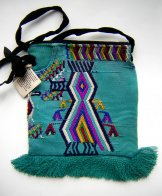 Huipil Bag - Small Square Chajul Bird ***SOLD***