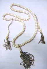 Bone Tasvi Mala - Ivory