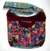 Huipil Bag  - Large Market Bag - Patzun Flowers 6 ***SOLD***