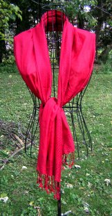 Scarf - Threads - Red