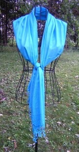 Scarf - Threads - Turquoise