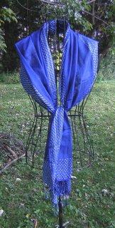 Scarf - Threads - Blue