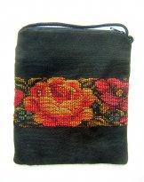 Huipil - Pocket Bag - Flower Border 1 ***SOLD***