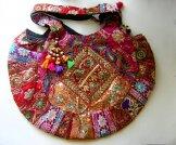 Large Sari Patch Bags