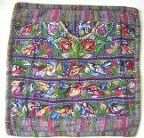 Mayan Huipil Pillow -  Santiago Birds ***SOLD***