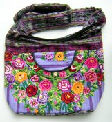 Huipil Bag - Large Patzun Market Bag Flowers 9 ***SOLD***
