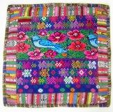 Mayan Huipil Pillow - Bluebird ***SOLD***