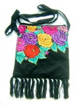 Hip Bag - Black Flowers***SOLD***
