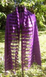Silk Scarf - Ava - Purple