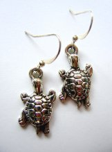 Charm Earrings - Turtle