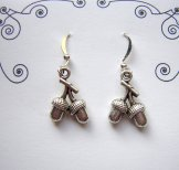 Charm Earrings - Acorn Twig