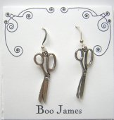 Charm Earrings - Scissors