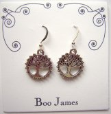 Charm Earrings - Zen Tree of Life