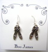 Charm Earrings - Ballet Slippers