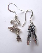 Charm Earrings - Ballet